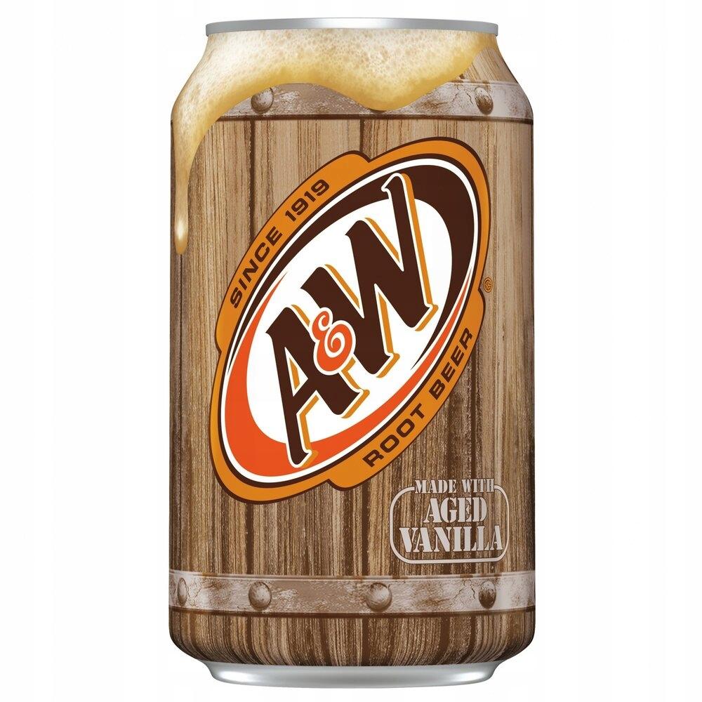 A&W piwo korzenne bezalkoholowe 355ml z USA