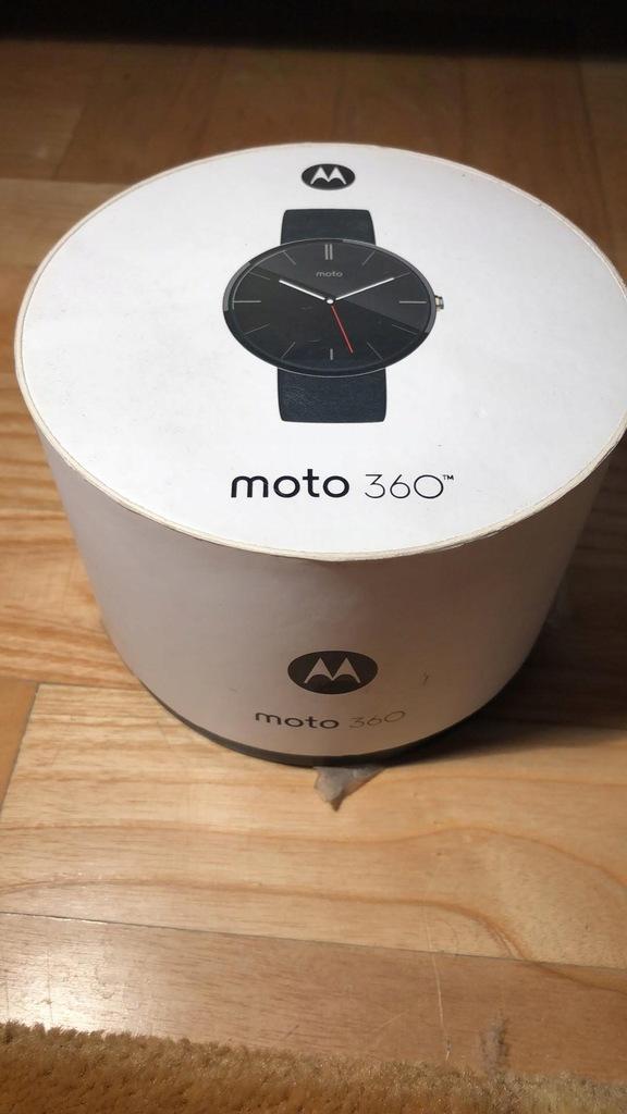 Zegarek Smart Motorola Moto 360 (czarny)