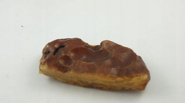 bursztyn bałtycki prostokaty surowy płaski 45,6 g