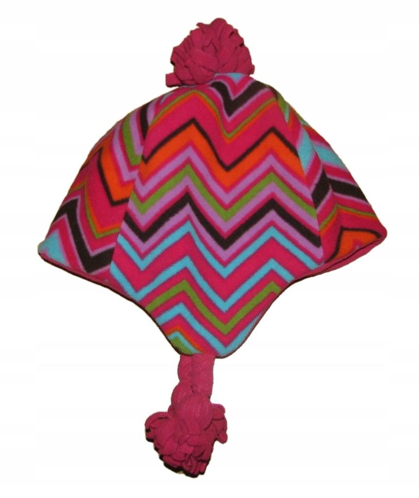 GAP KIDS śliczna zimowa czapka 6-9 lat BDB+