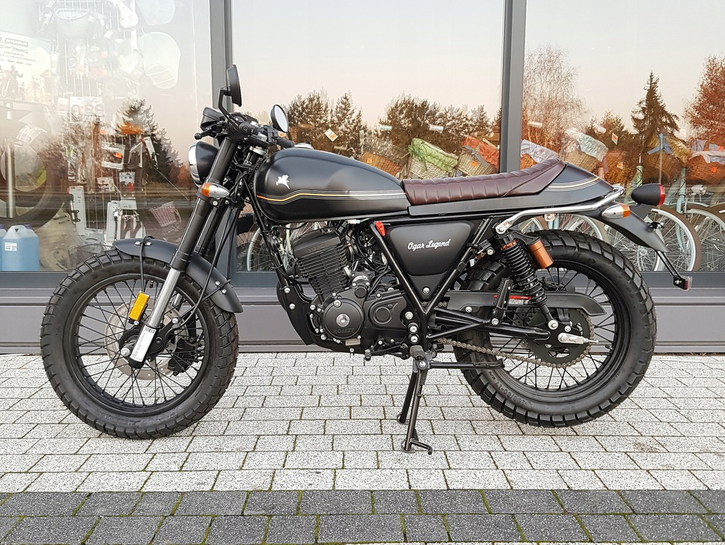 Motocykl Romet Ogar Legend 125cc Euro 4 Raty 7670988411 Oficjalne Archiwum Allegro