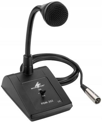 Monacor PDM-302 Mikrofon pulpitowy PA