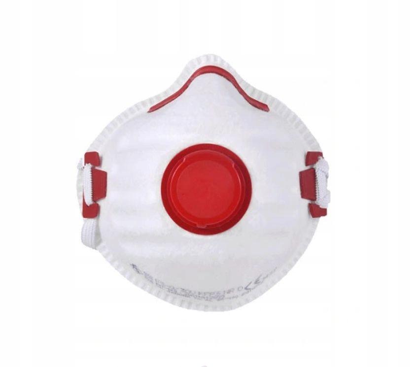 Maska FFP3 99,9% Certyfikat Maseczka z zaworkiem
