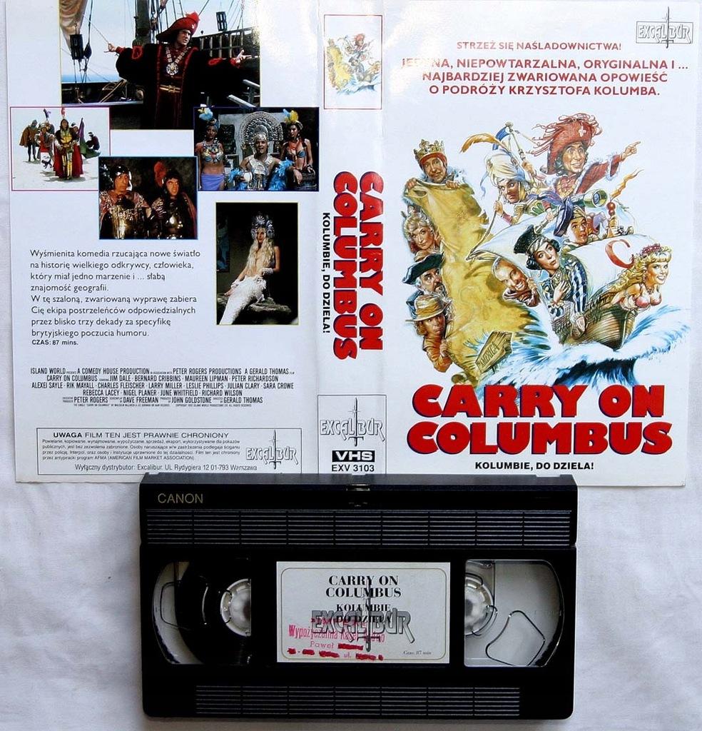 Kolumbie do dzieła - VHS