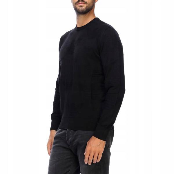 EMPORIO ARMANI męski sweter ORYGINALNY WŁOSKI L