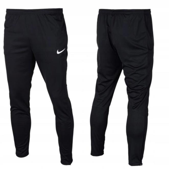 G172 NIKE DRI-FIT spodnie dresowe czarne 158-170cm