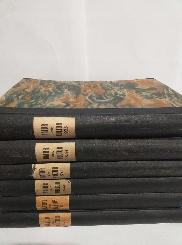 Roczniki (6) Natur und Kultur 1928,31,32,33,34,35