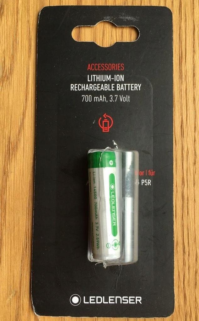 Akumulator Ledlenser ICR 14500 P5R 700 mah 3.7 V