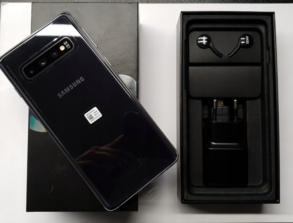 Samsung Galaxy S10 128GB G973F/DS CZARNY/ NOWY !