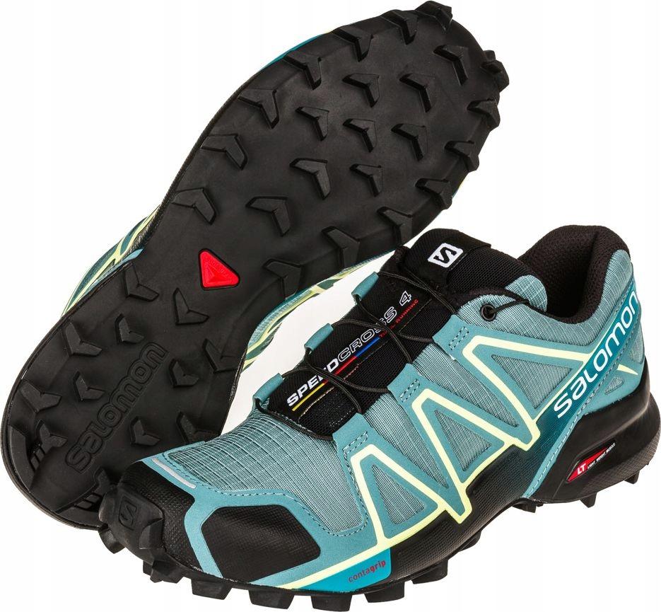 Salomon Buty damskie Speedcross 4 W ArticBlackEnamel Blue roz 40 23 398424) 398424