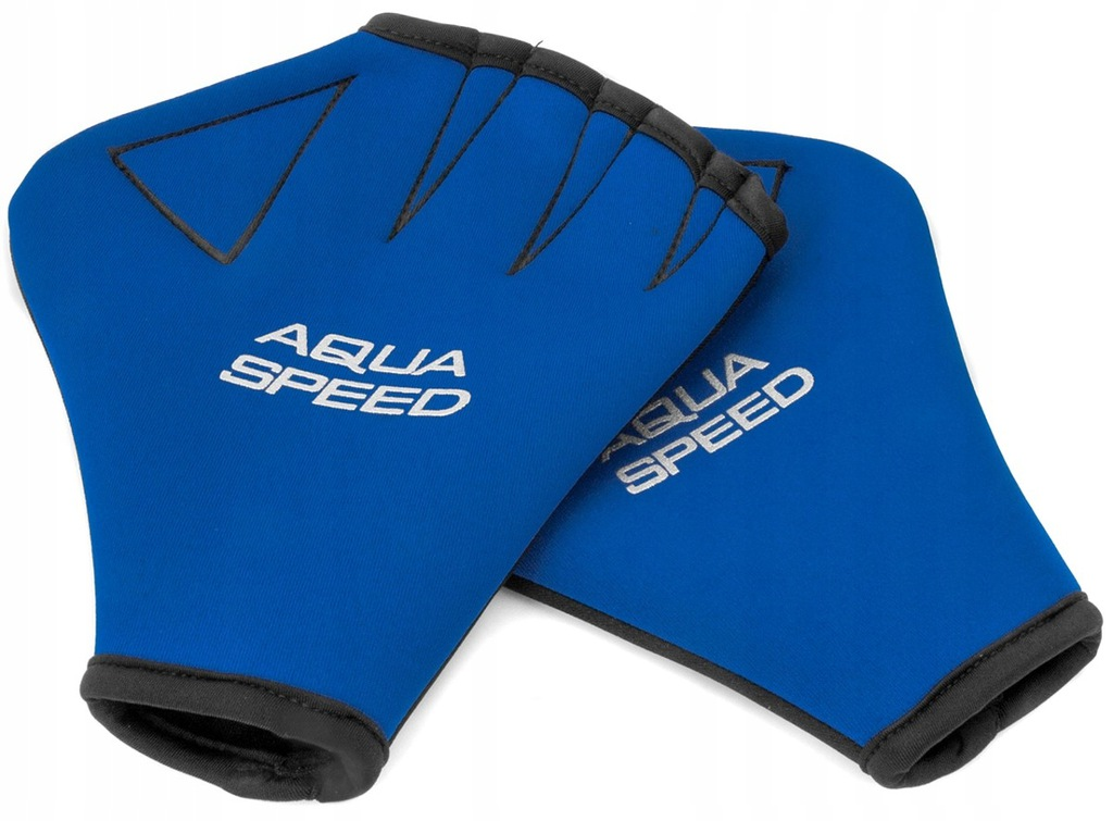 AQUA-SPEED Rękawice Pływackie Neoprenowe Paddle L