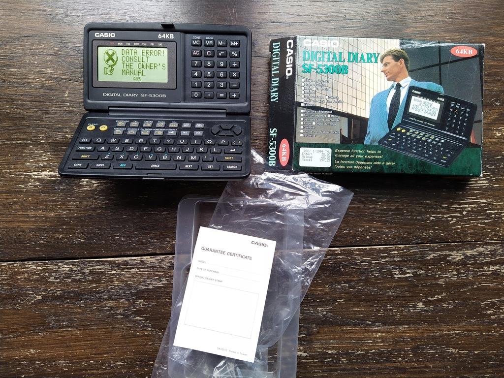 Kalkulator VINTAGE CASIO SF-5300B