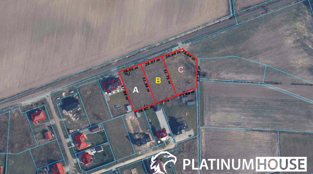 Działka, Syców, Syców (gm.), 1455 m²