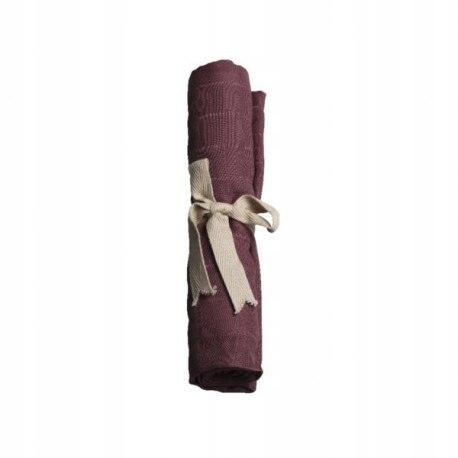 Filibabba pieluszka muślinowa 65 x 65 cm plum
