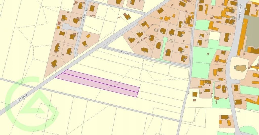 Działka, Zachowice, 5200 m²