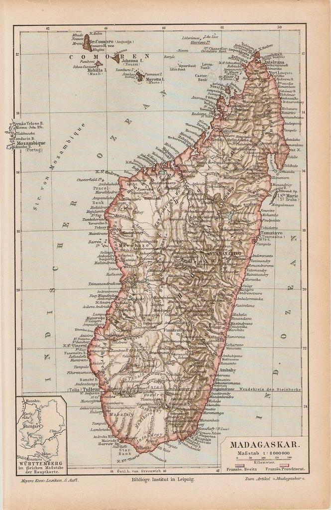 MADAGASKAR  ROK 1899