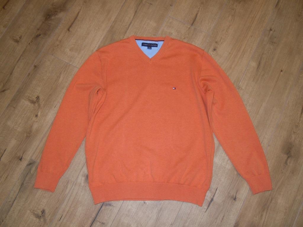 TOMMY HILFIGER sweter r.L BDB