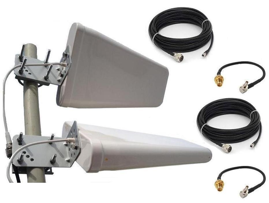 2x Antena LTE Advanced 4G ATK502 DUAL TS5/TS9 15m.
