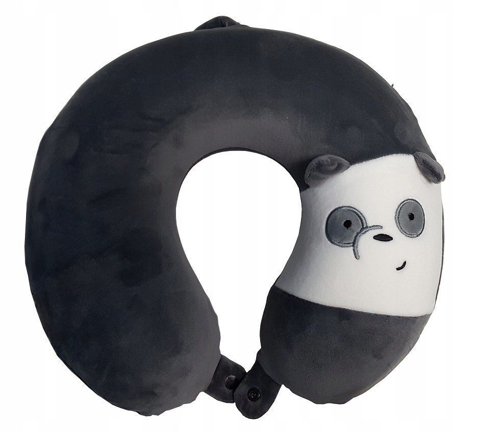 Poduszka Podróżna Panda Rogal Efekt Pamięci