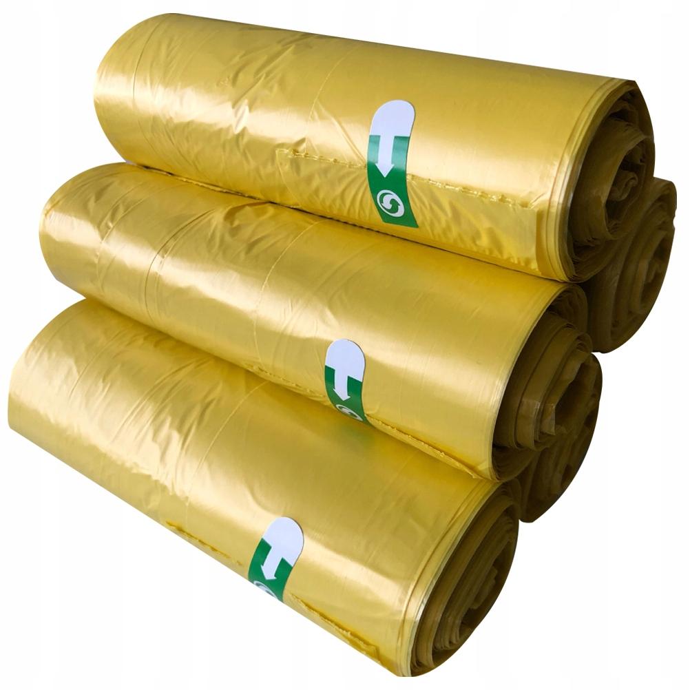 5 rolek 150 sztuk przenośne worki na śmieci Zag