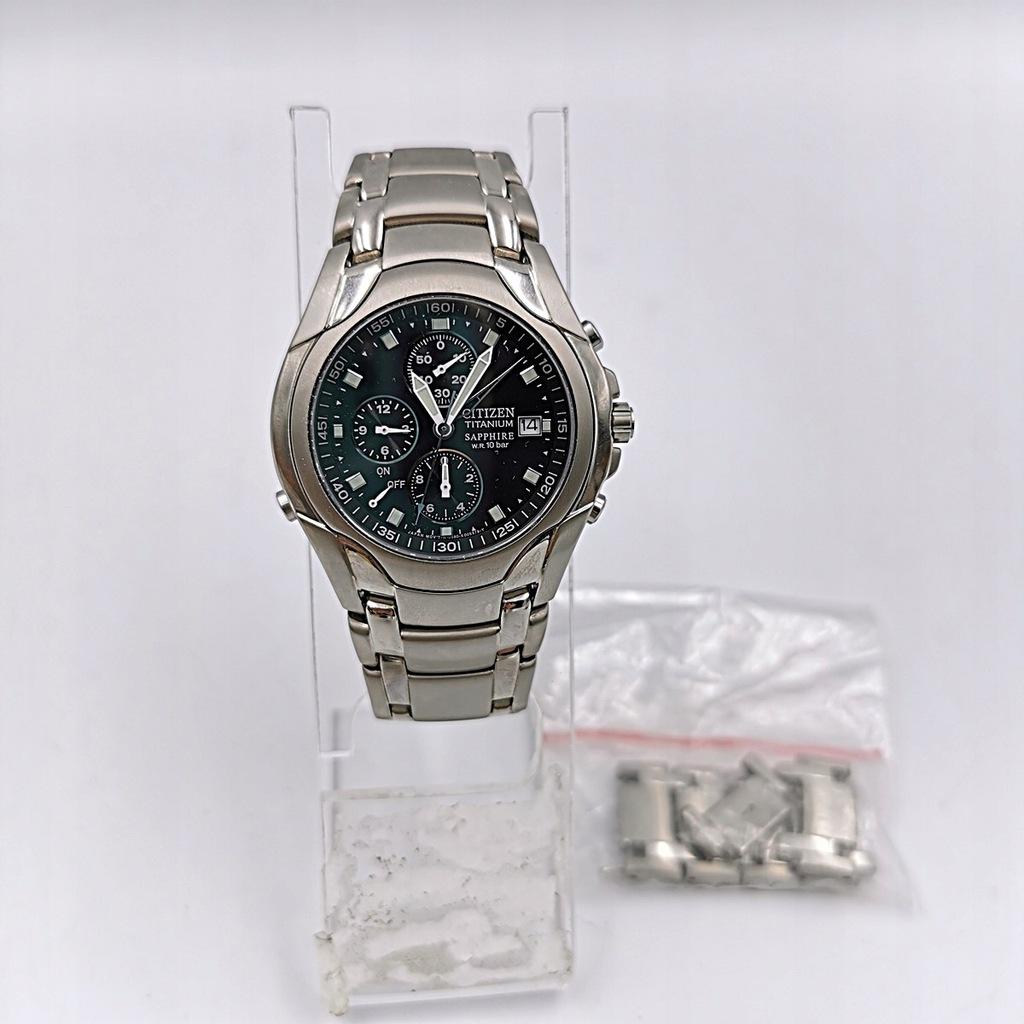 Zegarek męski CITIZEN Titanium GN-4W-S 0580