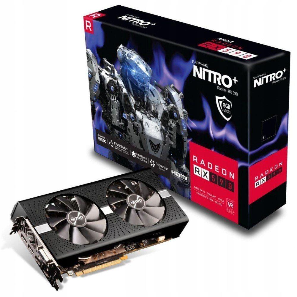 Karta graficzna Radeon RX 590 NITRO+ 8GB GDDR5 256