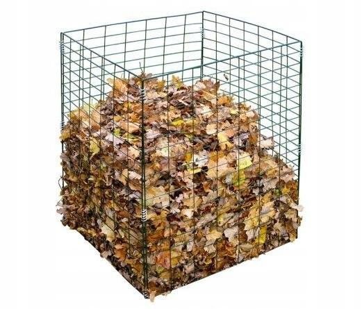 Kompostownik 450 l druciany ogrodu odpadki organic