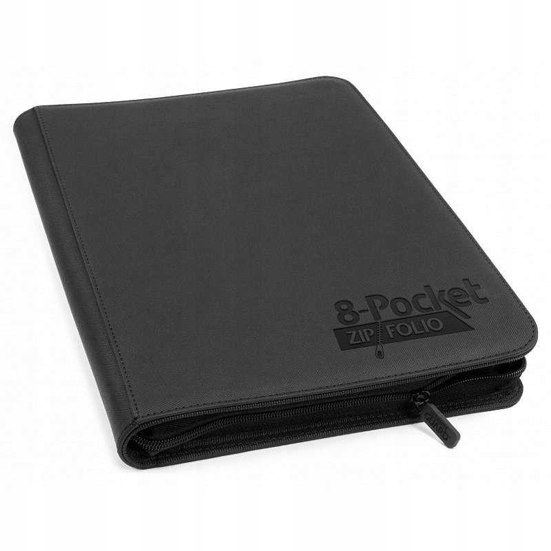 Ultimate Guard Zipfolio XenoSkin 8-Pocket Czarny