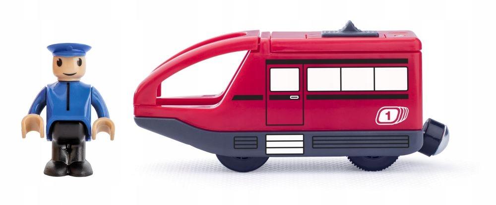 Pociąg elektryczny na baterie kolejka lokomotywa