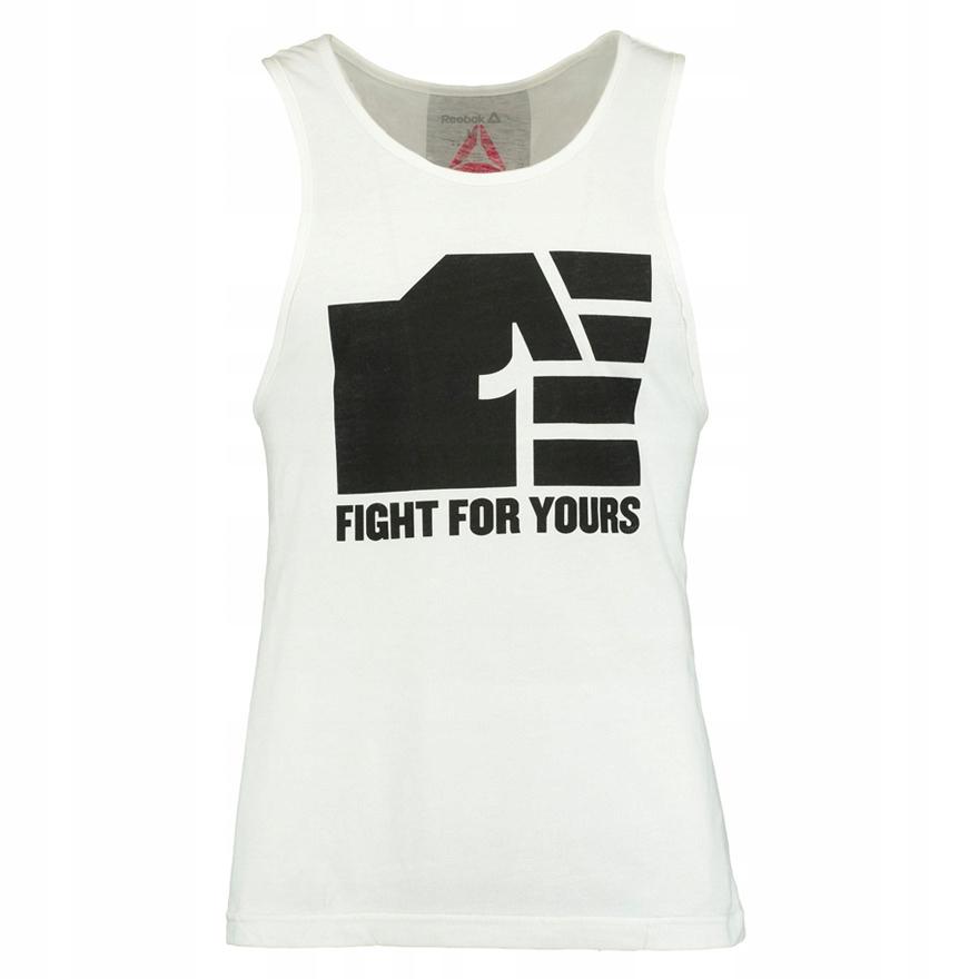 Koszulka Reebok Combat UFC męska bezrękawnik S
