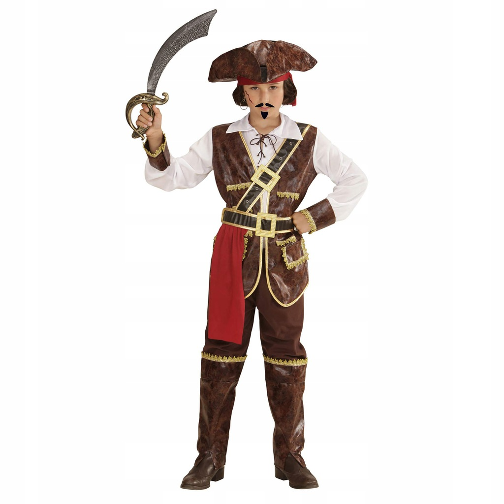WIDMANN 73035Childrens Costume Pirate of Coconut B