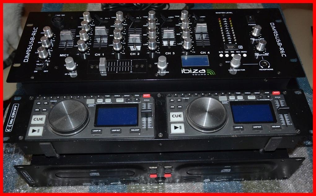 DJ-ODT+MIX-CD/mp3 x2, SD x2 i USB x2 mp3.Tanio!