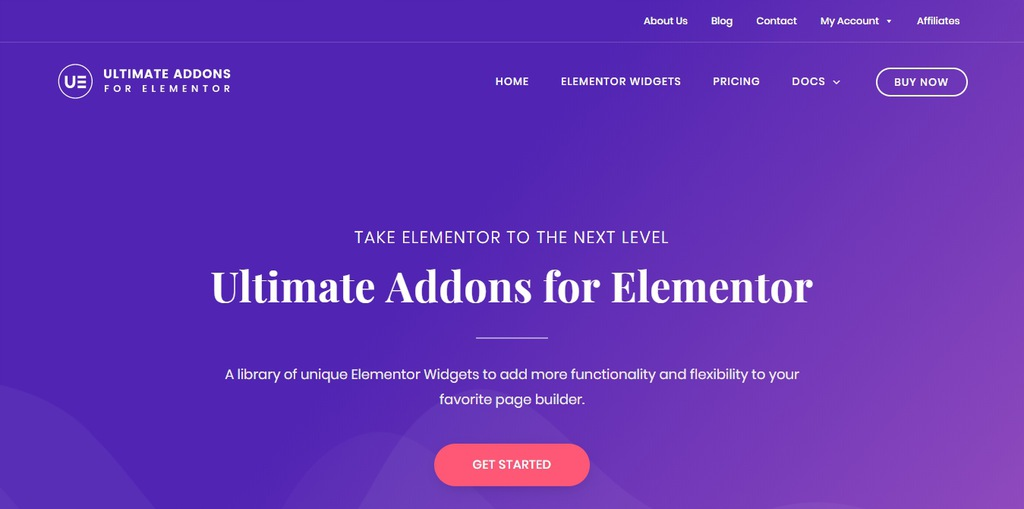 Wtyczka Ultimate Addons For Elementor Nowe dodatki