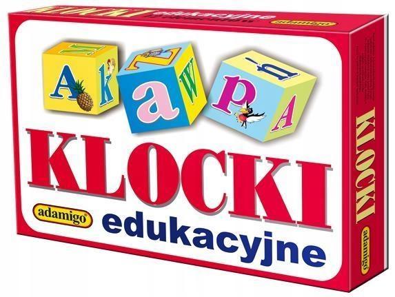 KLOCKI EDUKACYJNE 18 EL., ADAMIGO