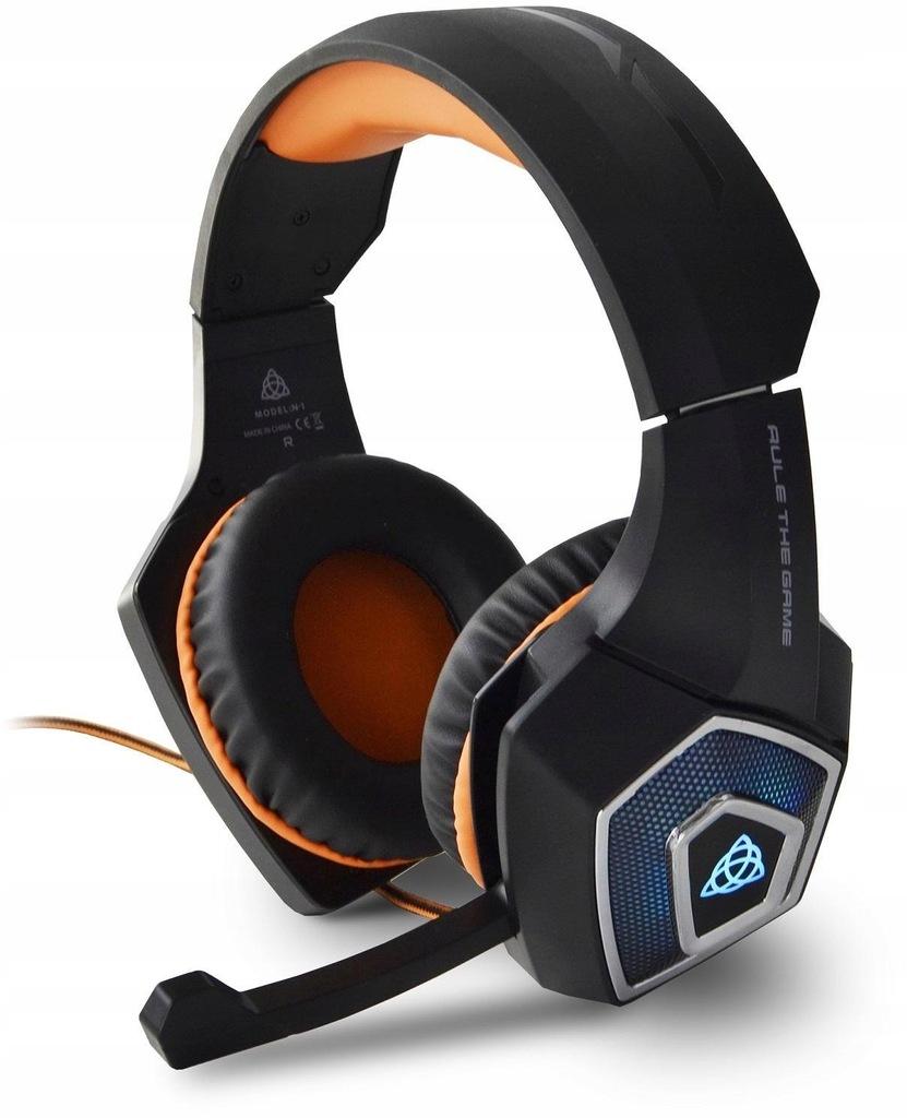Słuchawki z mikrofonem dla graczy HIRO BRAGI