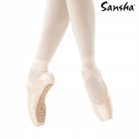 Baletki Sansha Pointy Debutante D101 6m 7860436177 Oficjalne Archiwum Allegro
