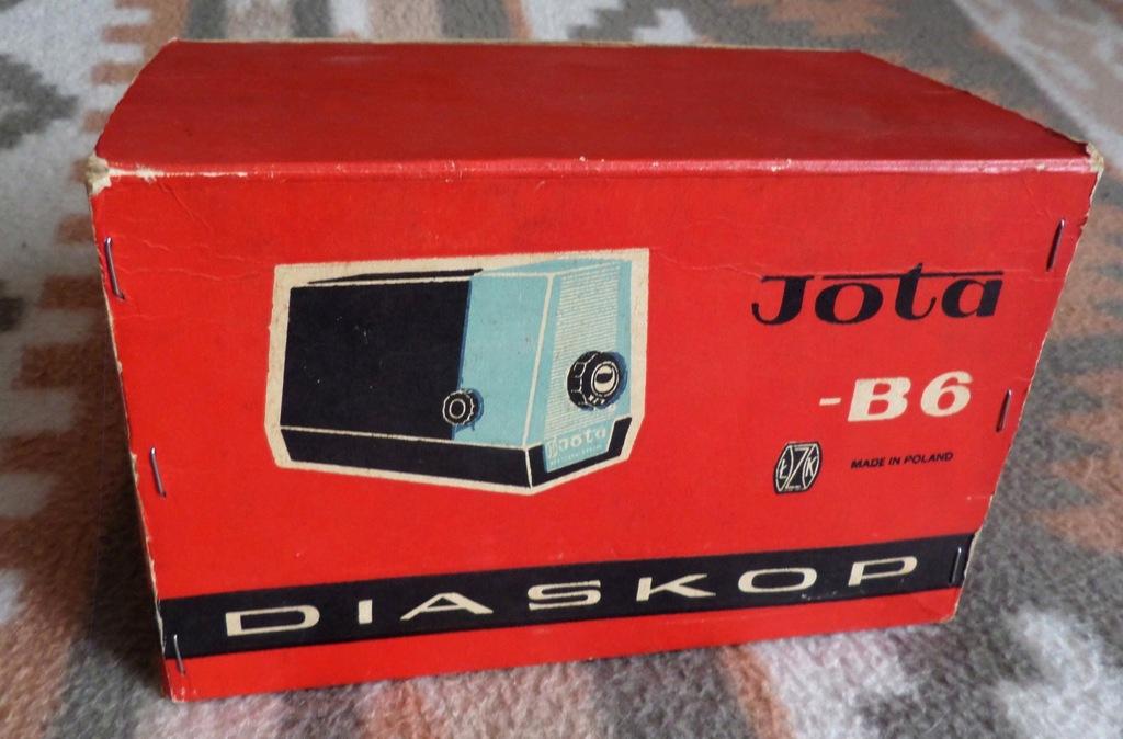 DIASKOP rzutnik projektor JOTA B6 + Bajki chińskie