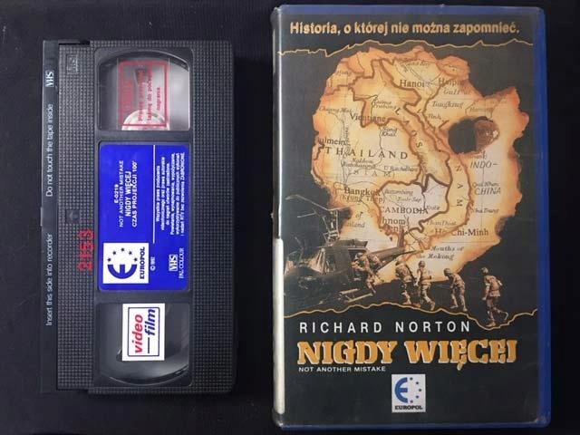 NIGDY WIĘCEJ 1989 VHS MEGA UNIKAT
