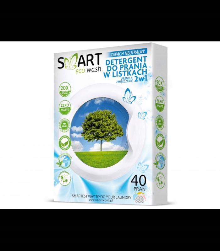 Biodegradowalne listki do prania 40 prań
