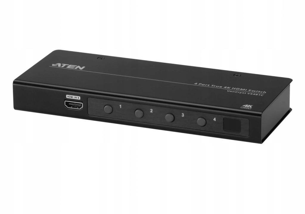 ATEN Przełącznik HDMI True 4K VS481C-AT-G