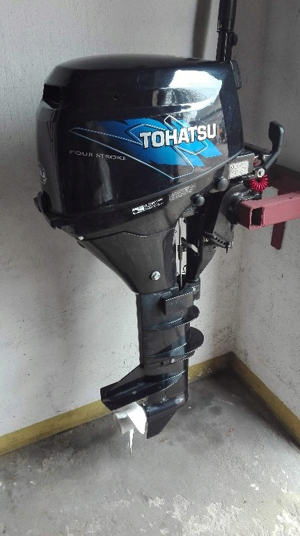 Silnik Zaburtowy Tohatsu 9 8 Km 7912719744 Oficjalne Archiwum Allegro