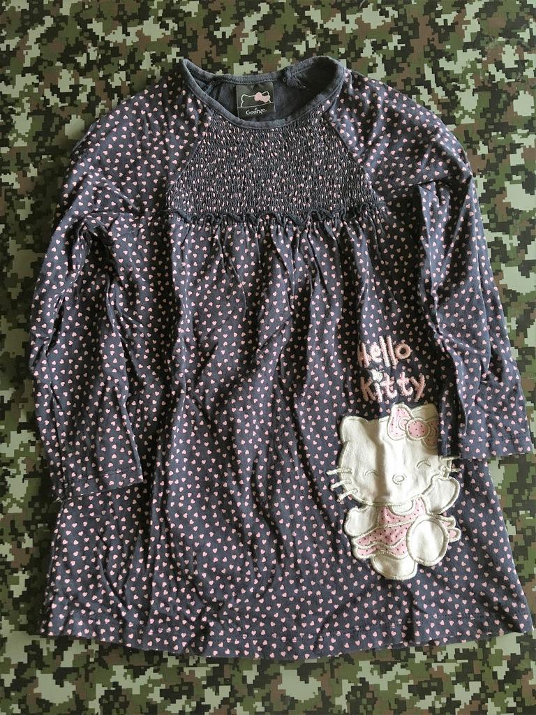Sukienka HELLO KITTY GEORGE 98-104CM