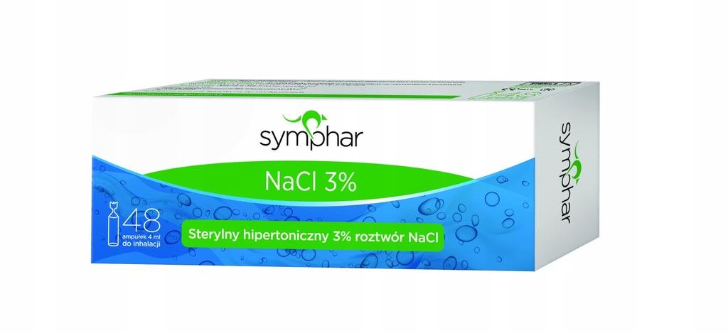 Symphar NaCl 3% 48szt