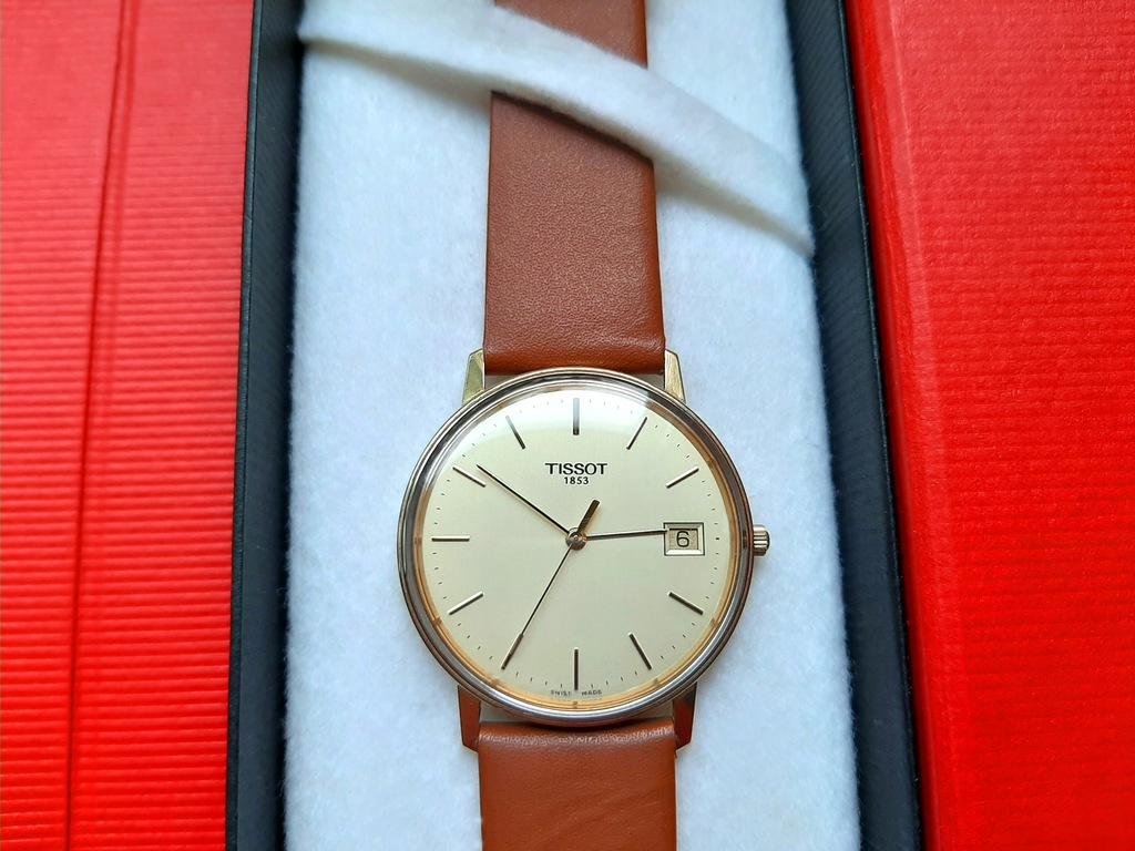 zegarek Tissot LITE ZŁOTO 14k (585) MONOCOQUE, box