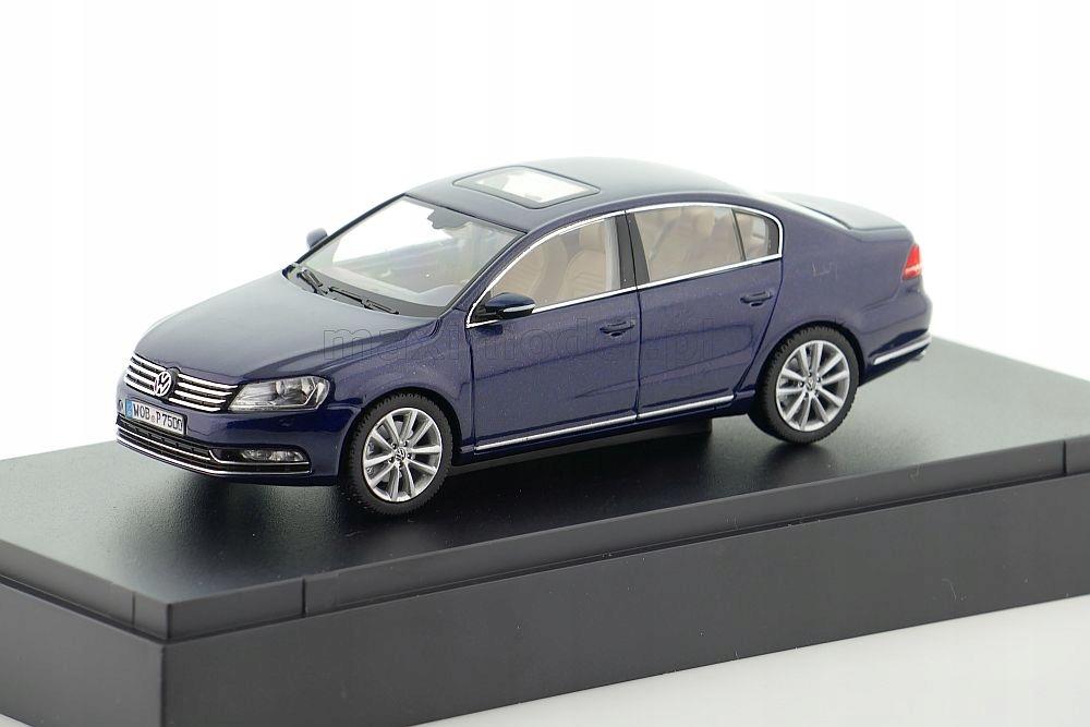 Volkswagen Passat B7 Night Blue 1 43 1 43 Schuco 9513860169 Oficjalne Archiwum Allegro