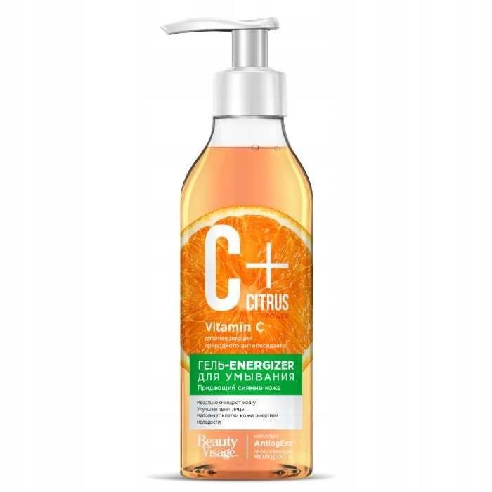 C+ Citrus Żel-energizer do mycia twarzy z kompleks