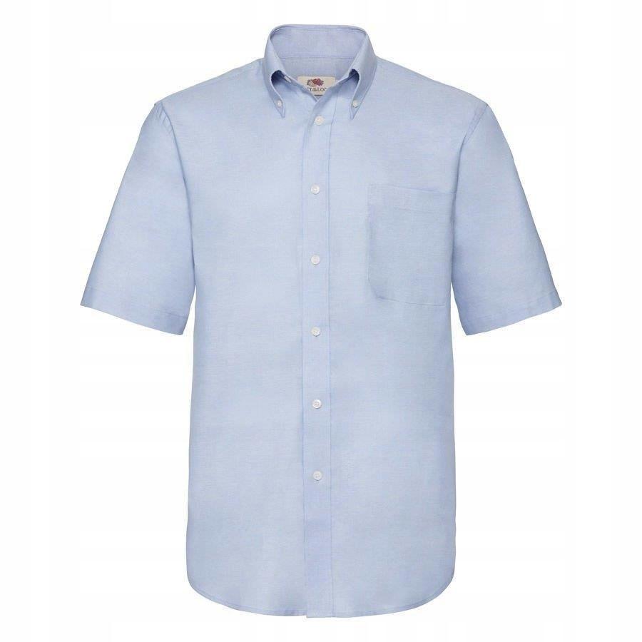 MĘSKA koszulka SHORT OXFORD FRUIT błękit XL