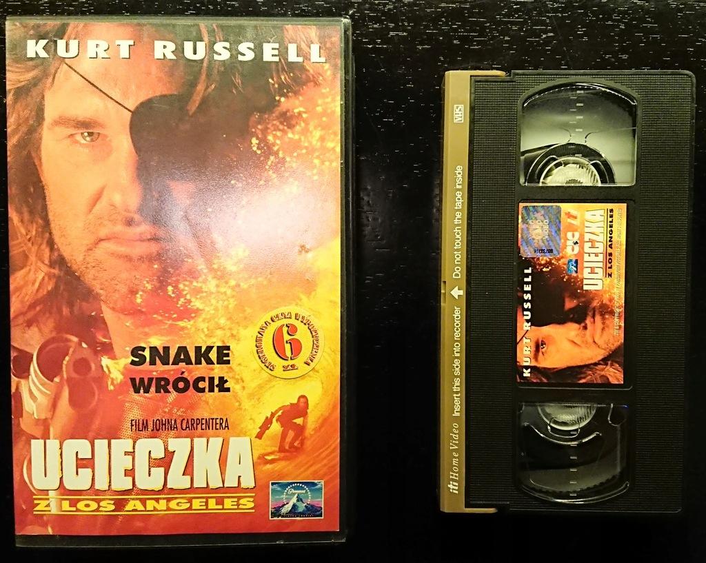 Ucieczka z Los Angeles 1996, John Carpenter   VHS