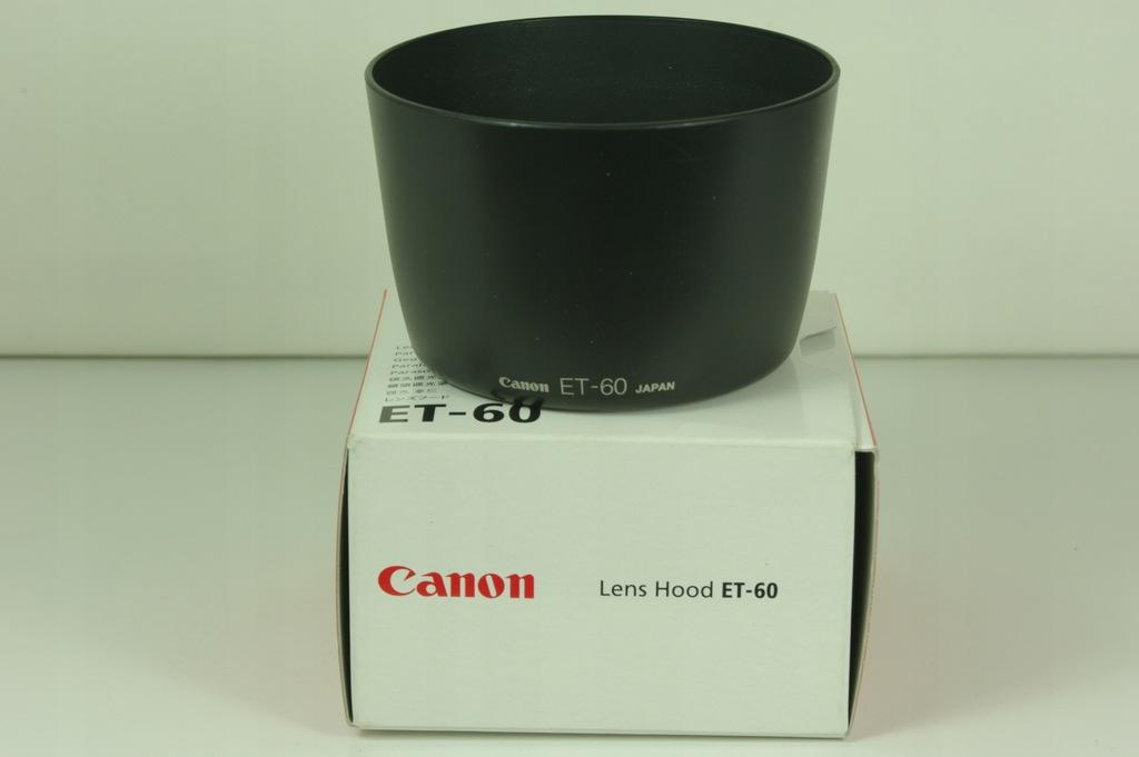 Fabryczna osłona CANON ET60-made in Japan-jak nowa