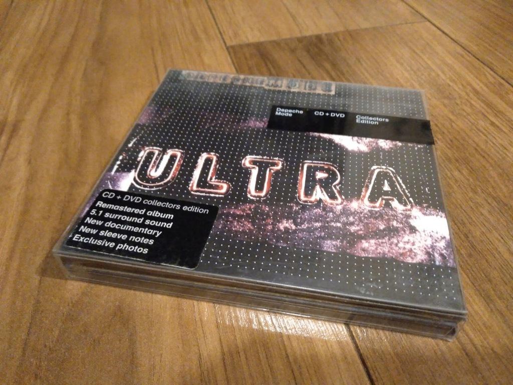 DEPECHE MODE ULTRA SACD DVD 5.1 SUPER AUDIO MULTI